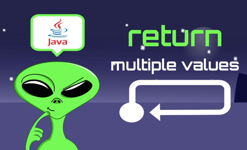 how to return multiple values in java